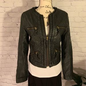 AMERICAN EAGLE OUTFITTERS Faux Leather Jacket